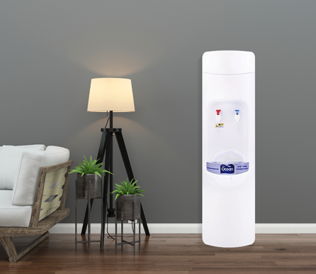 White Direct Piping Water Dispenser