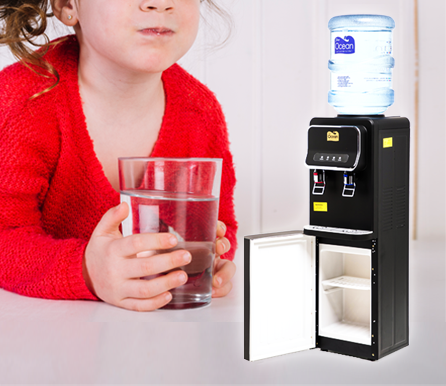 Gold Floor Stand Water Dispenser (Hot & Cold)