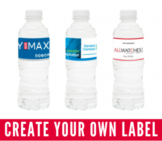 Custom Label Bottled Water