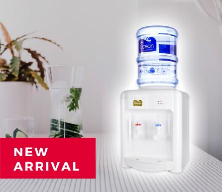 White Table Top Water Dispenser (Hot/Room)