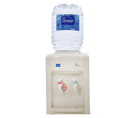 White Table Top Water Dispenser (Hot/Room)