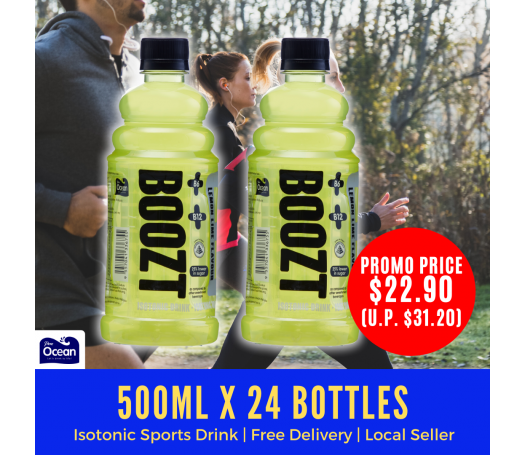 Boozt Isotonic Sports Drink