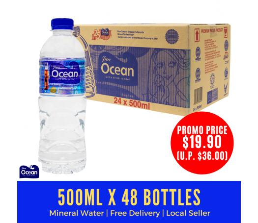500ml Pere Ocean Natural Mineral Water