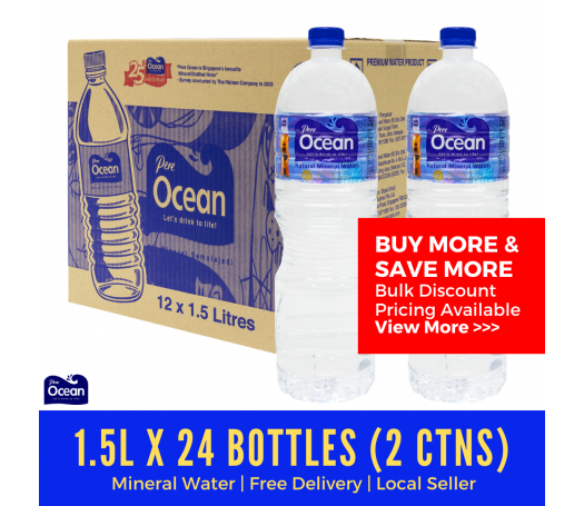 1.5L Pere Ocean Natural Mineral Water