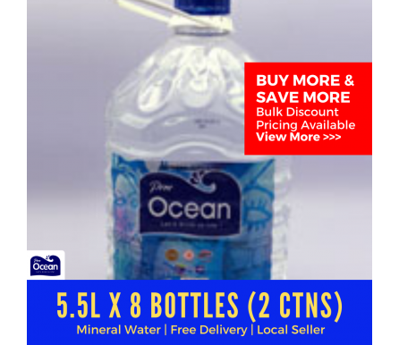 5.5L Pere Ocean Natural Mineral Water