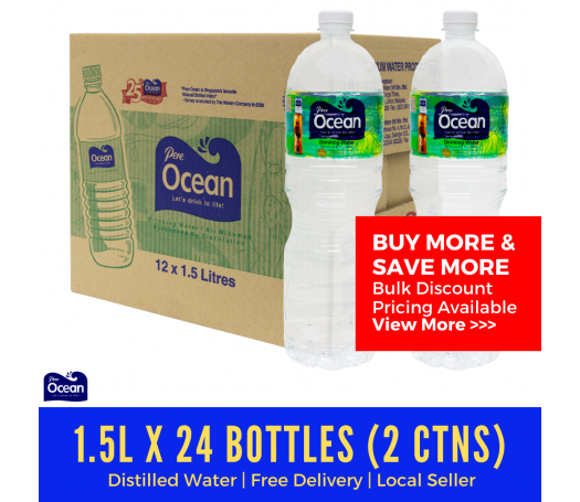 Pere Ocean Distilled Water