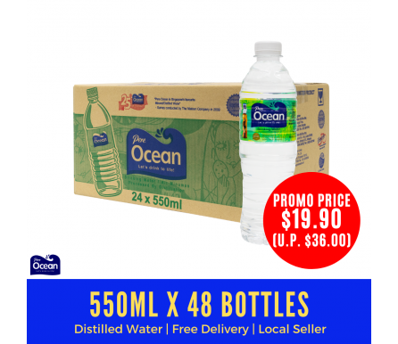 550ml Pere Ocean Pure Distilled Water