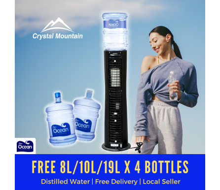Crystal Mountain Everest Elite Hot & Cold Floor Stand Water Dispenser