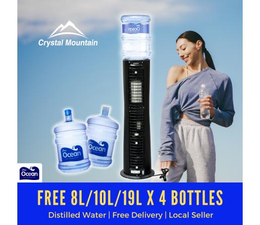 Crystal Mountain Everest Elite Hot & Cold Floor Stand Water Dispenser