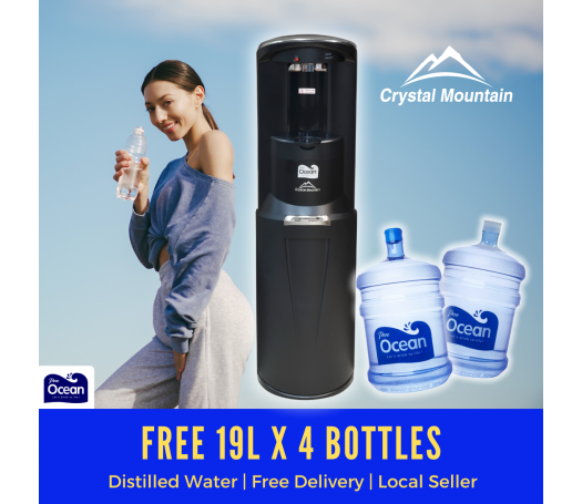 Crystal Mountain Storm Hot & Cold Bottom Load Water Dispenser