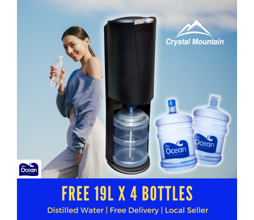Pere Ocean Crystal Mountain Storm Hot and Cold Bottom Load Bottled Water Dispenser