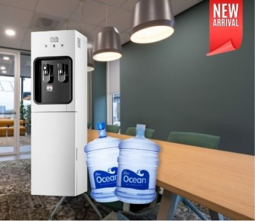 Pere Ocean Platinum Hot and Cold Bottom Load Bottled Water Dispenser (Pre-Order)