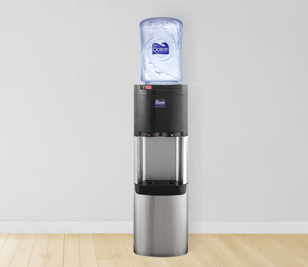 Hot and Cold Floor Standing Water Dispenser (Stainless Steel)
