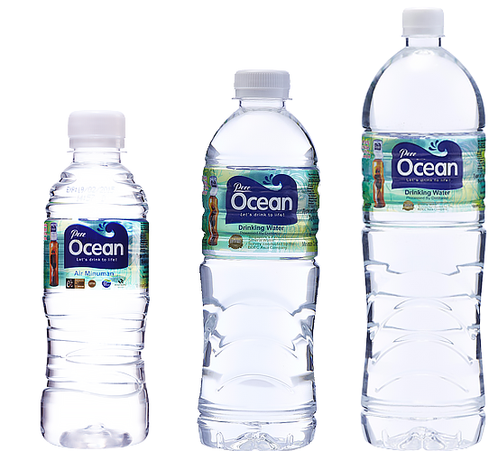 Pere Ocean Distilled Water PET Bottle