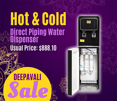 Gold Label Pere Ocean Hot & Cold Floor Standing Direct Piping Water Dispenser