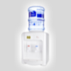 White Table Top Bottled Water Dispenser (SADISP015)