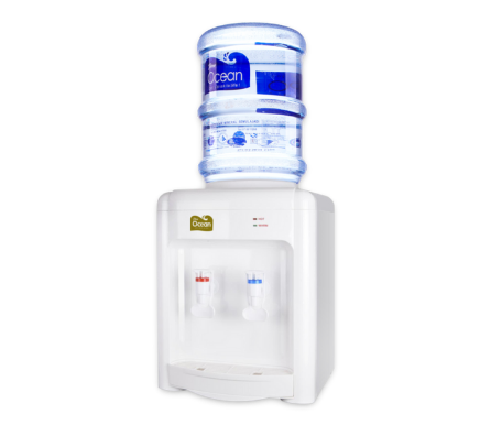 Pere Ocean Hot & Room Table Top Bottled Water Dispenser