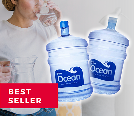 Pere Ocean Big Gallon Bottle Water