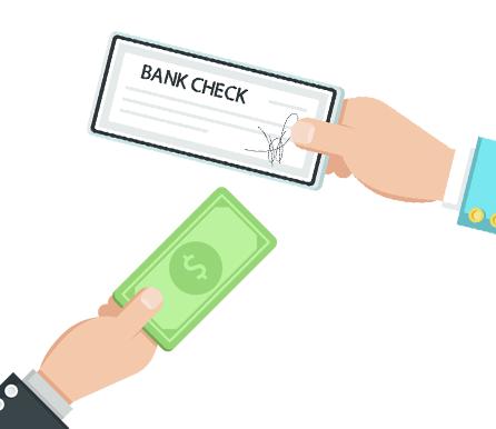Pere Ocean Accepts Cheque & Cash