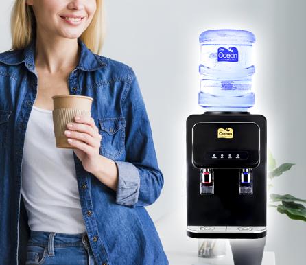 Gold Label Pere Ocean Table Top Bottled Water Dispenser