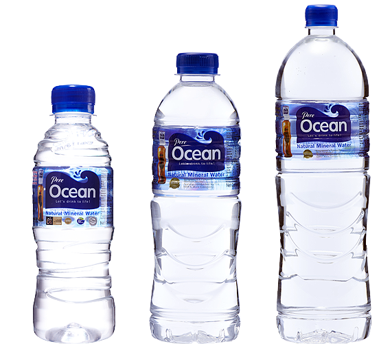 Pere Ocean Natural Mineral Water PET Bottles