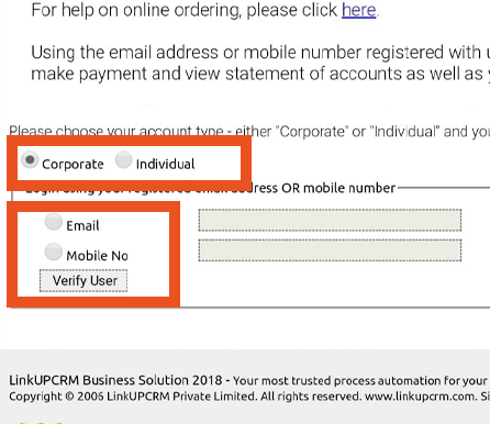 Pere Ocean Repeat Bottled Water Order Online via Email Step 2