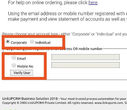 Pere Ocean Repeat Bottled Water Order Online via Mobile Number Step 2