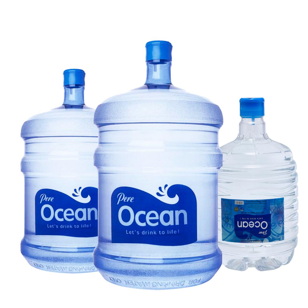 Pere Ocean Mineral Water 8L, 10L & 19L