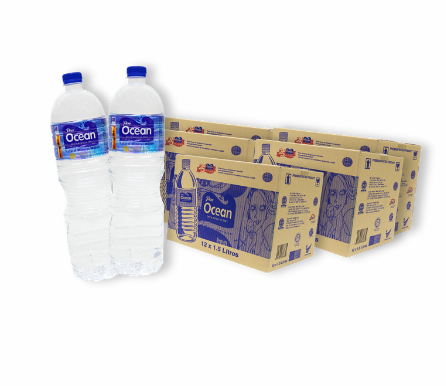 Pere Ocean 1.5L Natural Mineral Water Bottled Water Singapore Free Local Delivery Home Office Wholesale Price
