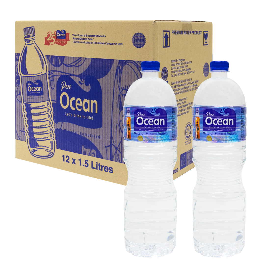 Pere Ocean Mineral Water 1.5L