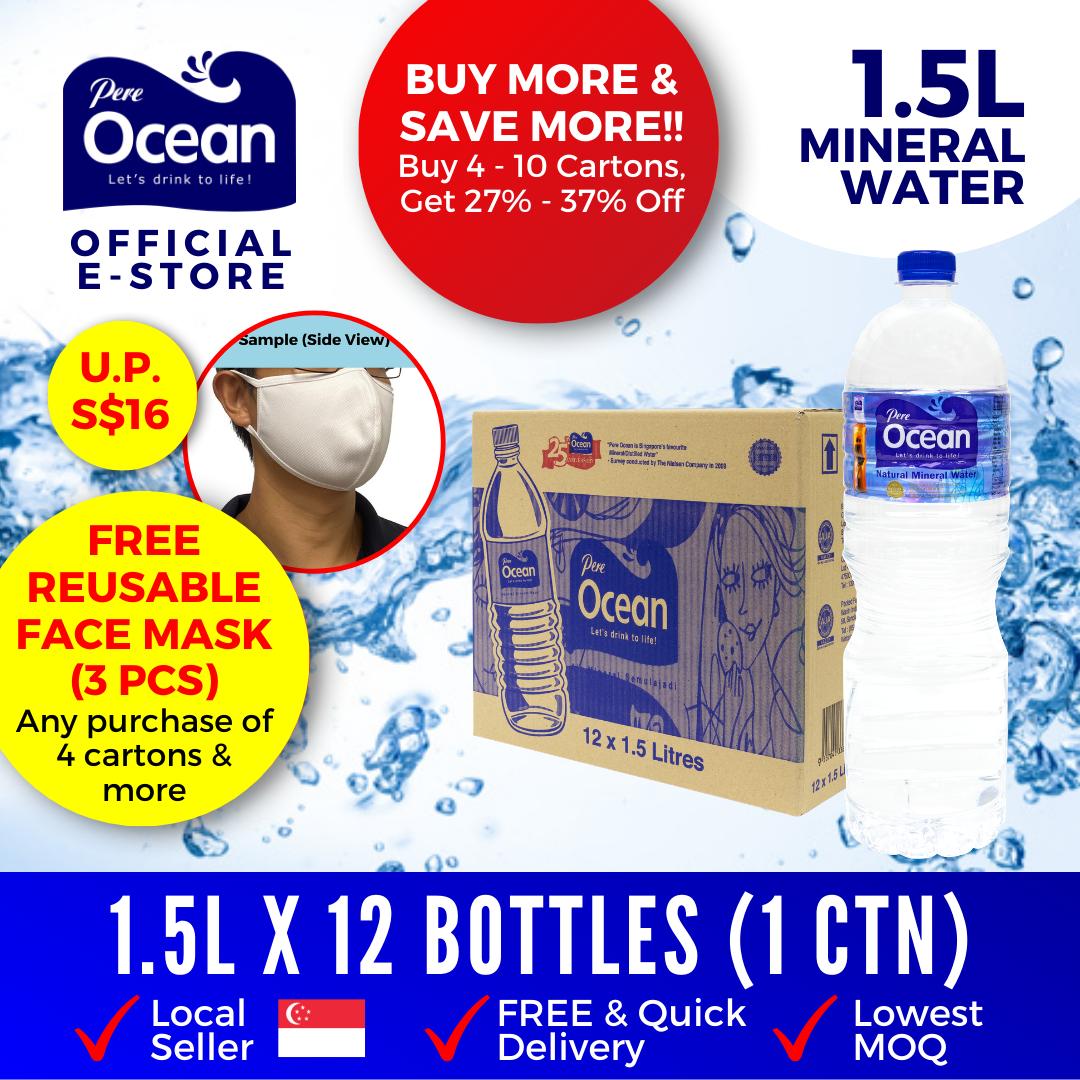Pere Ocean Mineral Water 1.5L Bulk Discount