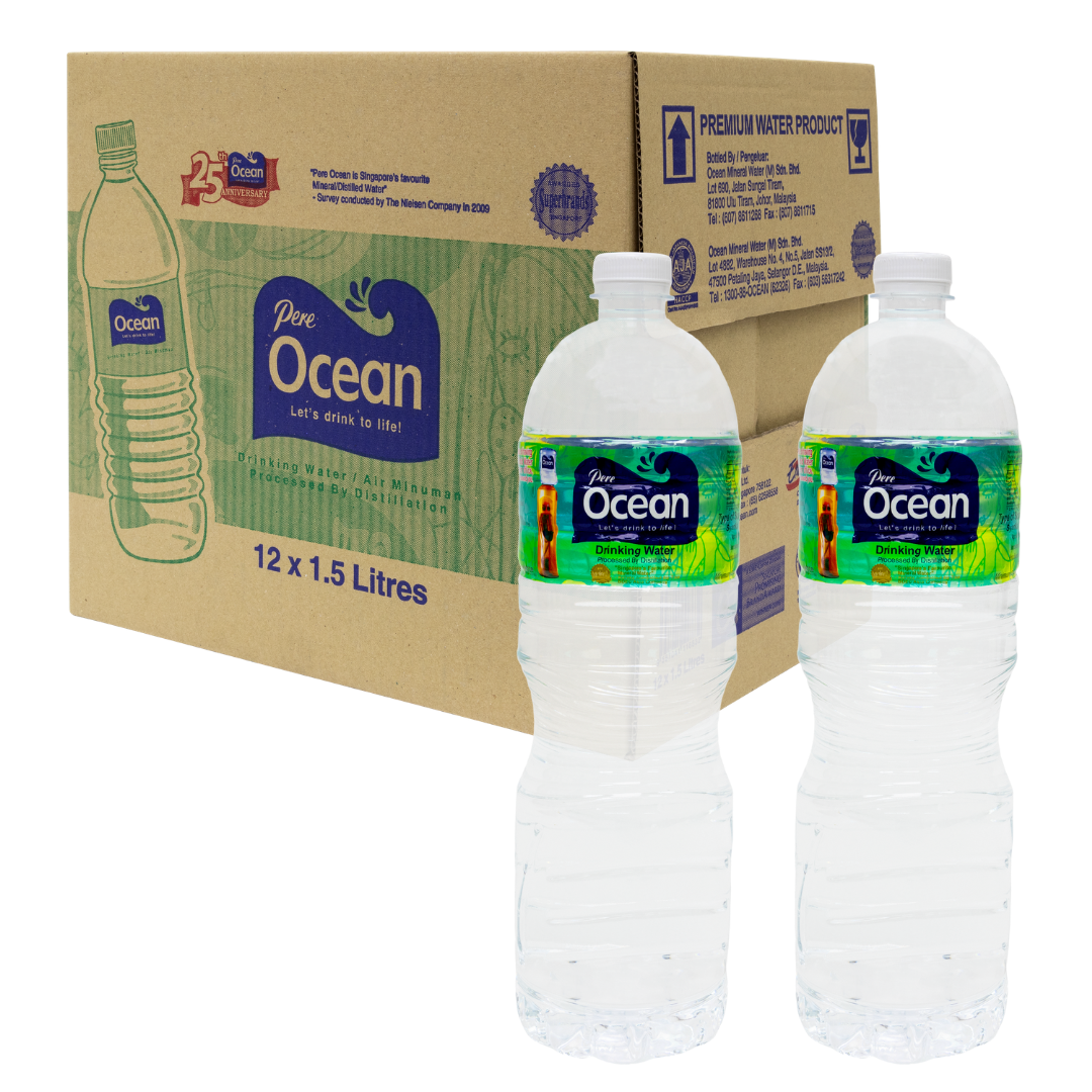 Pere Ocean Distilled Water 1.5L