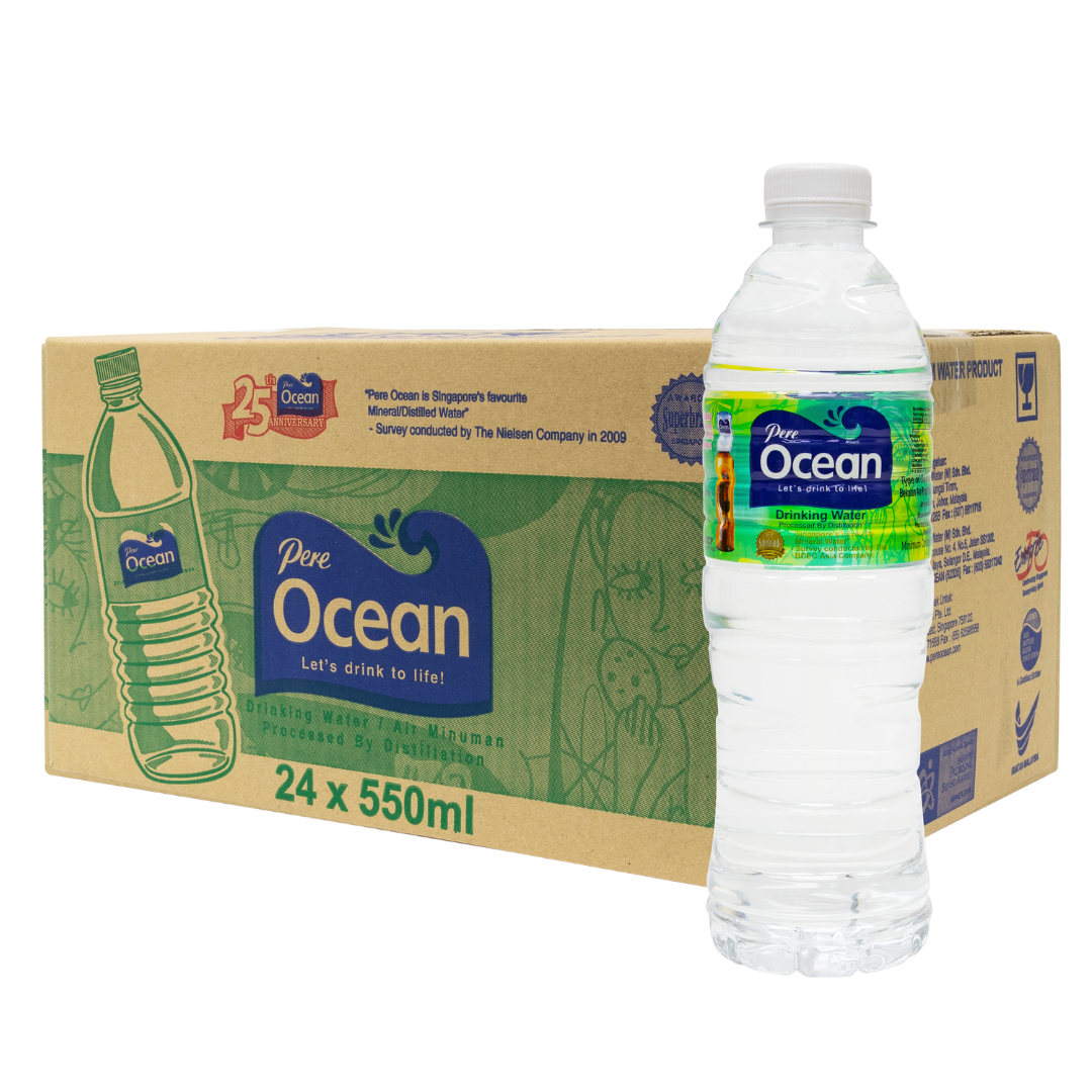 Pere Ocean Distilled Water 550ml