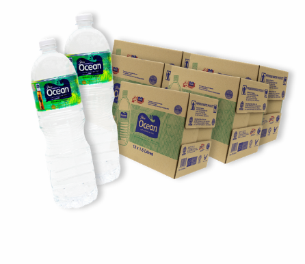 Pere Ocean 1.5L Distilled Drinking Water Bottled Water Singapore Free Local Delivery Home Office Wholesale Price